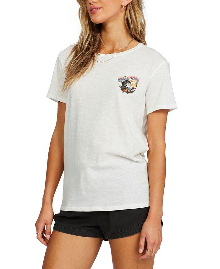 Billabong - Juniors' Rock The Wave Cotton Graphic T-Shirt