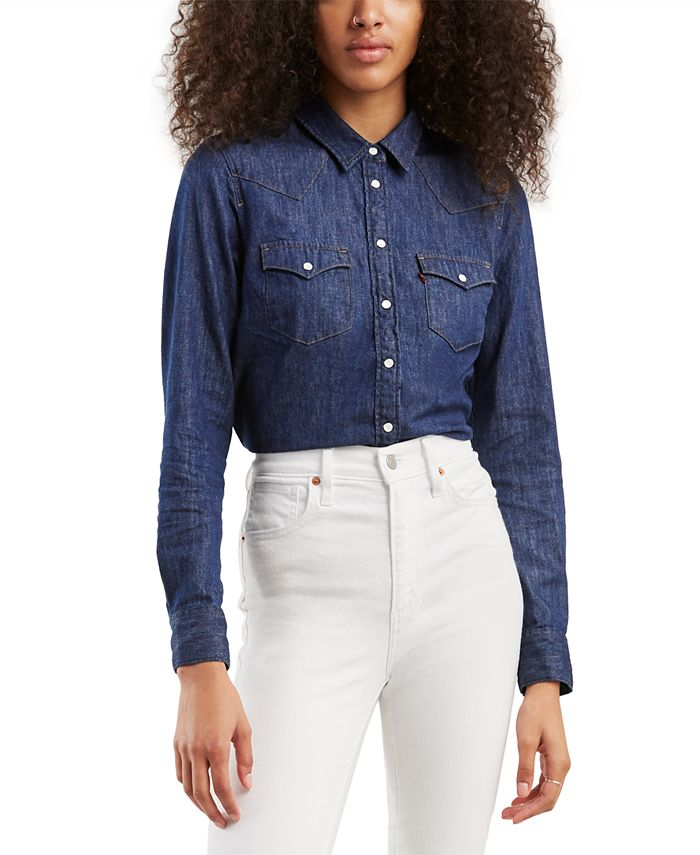 Levi's - The Ultimate Western Cotton Denim Shirt