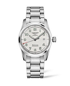 Longines Men's Automatic Spirit Stainless Steel Chronometer Bracelet Watch 40mm