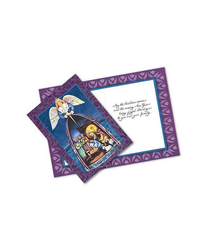 Jim Shore Nativity 10 Greeting Cards and Envelopes
