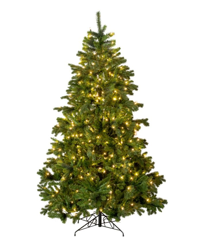Perfect Holiday 7' Prelit Calgary Spruce Christmas Tree with 350 LED Lights & Reviews - Holiday Shop - Home - Macy's