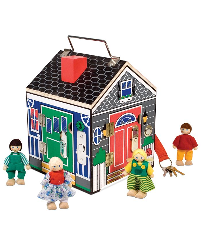 Melissa and Doug - Kids Toy, Doorbell House