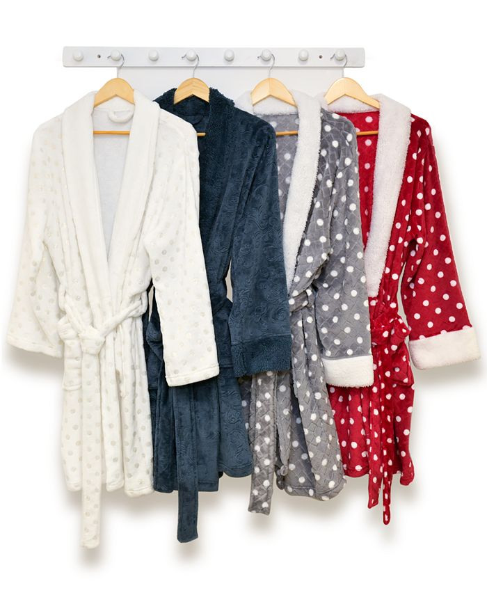 Martha Stewart Collection - Plush Bath Robe