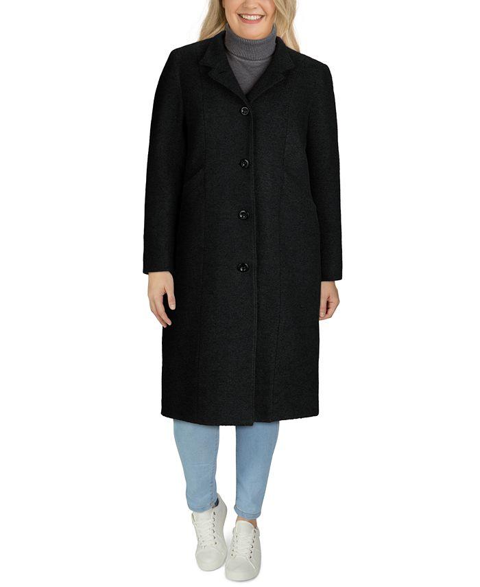 Jones New York - Plus Size Maxi Coat