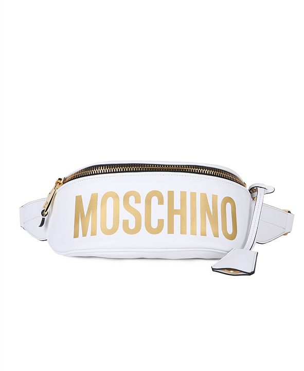 Moschino Women's Nylon Logo Belt Bag (49% Off) -- Comparable Value $680