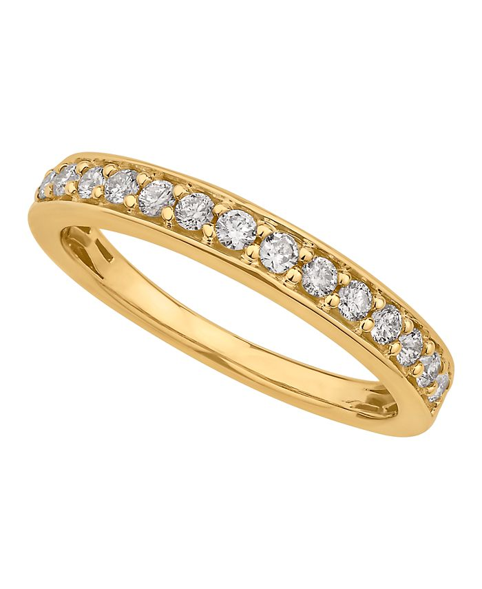 Macy's - Diamond Pave Band 1/4 ct. t.w. in 14k Gold