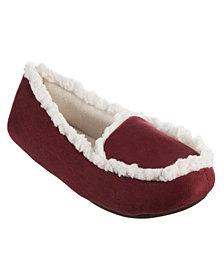 Isotoner Signature Women's Alex Moccasin Slippers