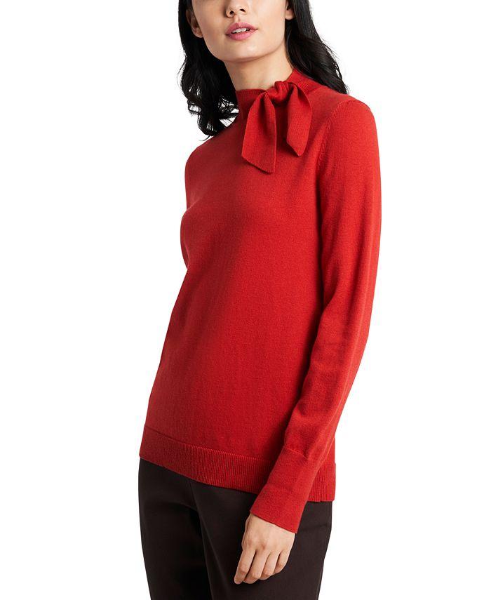 Riley & Rae - Blair Tie-Neck Sweater