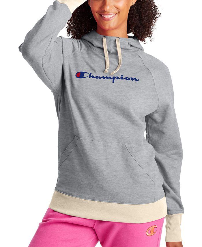 Champion - Cotton Powerblend Logo Hoodie