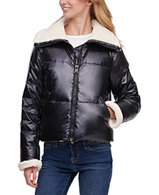 Levi's® Faux-Sherpa-Lined Puffer Jacket