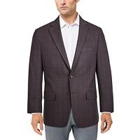 Michael Kors Men's Modern-Fit Patterned Blazer