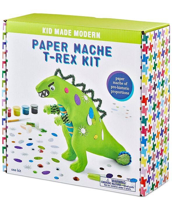 Kid Made Modern Paper Mache T-Rex Craft Kit