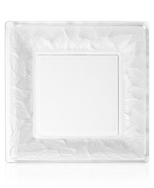 "Closeout! Block by Mikasa Serveware, 11.5"" Glass Platter"