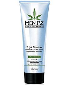 Hempz Triple Moisture Herbal Shampoo, 9-oz., from PUREBEAUTY Salon & Spa