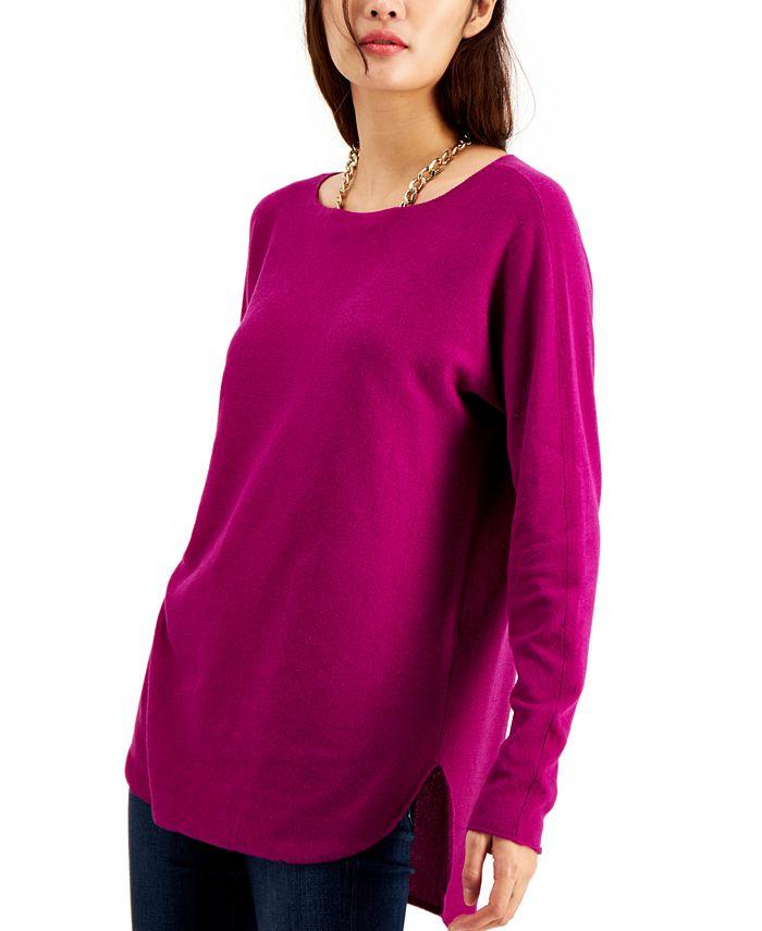 INC International Concepts - Shirttail Sweater