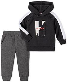 Tommy Hilfiger Baby Boys 2-Pc. Fleece Hoodie & Jogger Pants Set