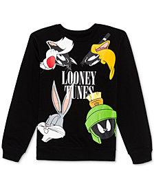 Warner Brothers Juniors' Looney Tunes Sweatshirt