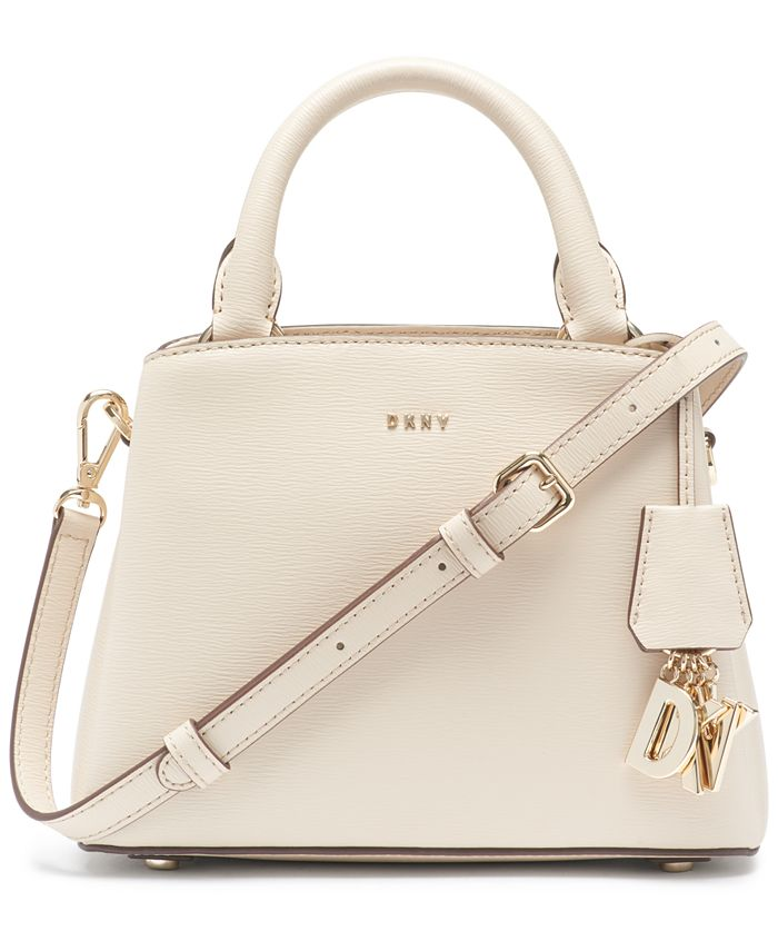 DKNY - Paige Small Leather Satchel