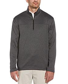 PGA TOUR Men's Two-Tone Quarter-Zip Jacket