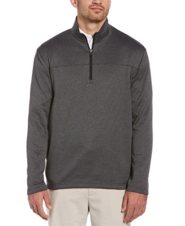 PGA TOUR - Men's Long Sleeve Two-Tone Half-Zip Jacket