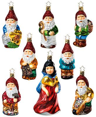 Snow White Christmas Ornament Set