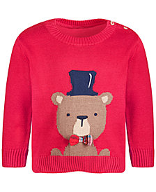 First Impressions Baby Boy Bear Sweater, Created for Macy's