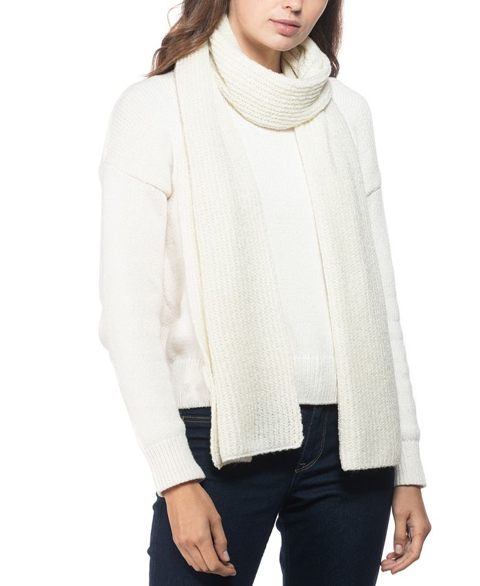Style & Co - Rib Solid Scarf With Lurex