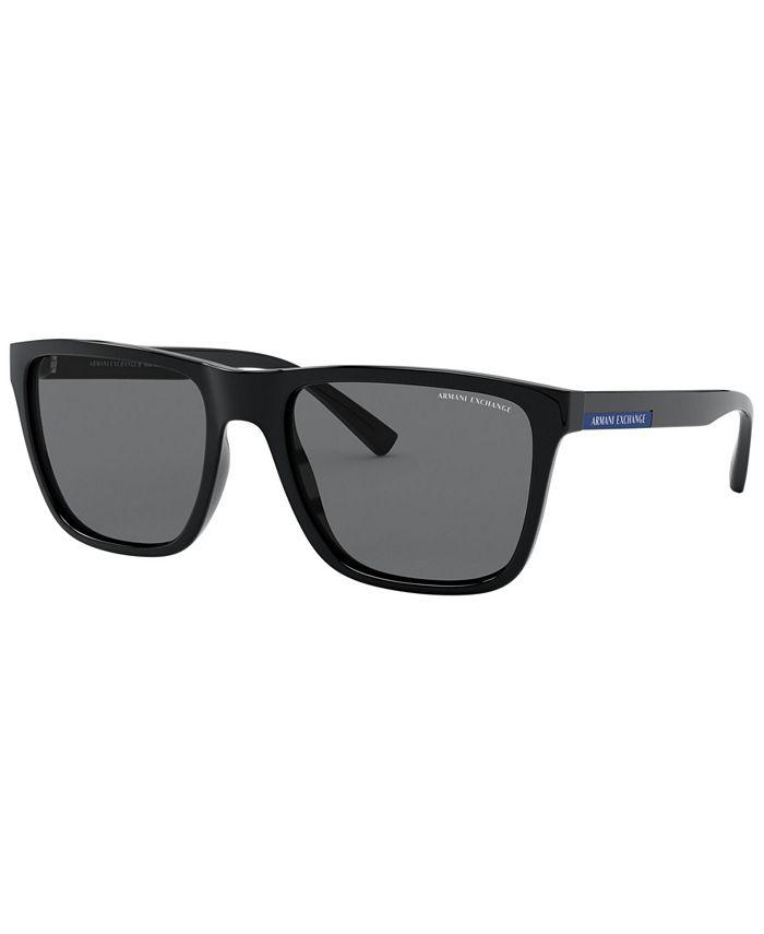 A X Armani Exchange - Men's Polarized Sunglasses, X4080S 57