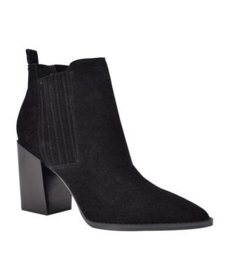 Medium Beata Block Heel Ankle Booties