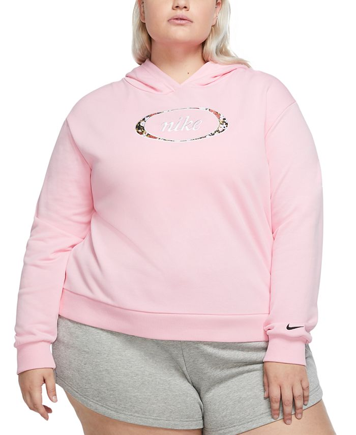 Nike - Plus Size Hooded Fleece Sweatshirt