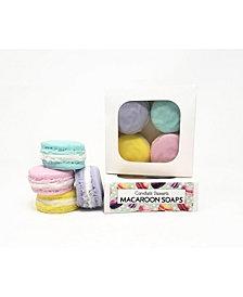Candlelit Desserts 4-Piece Macaroon Soap Set