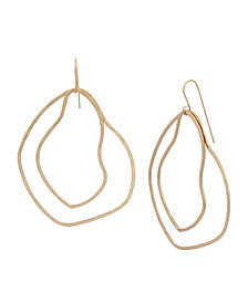 Robert Lee Morris Soho Open Drop Earrings