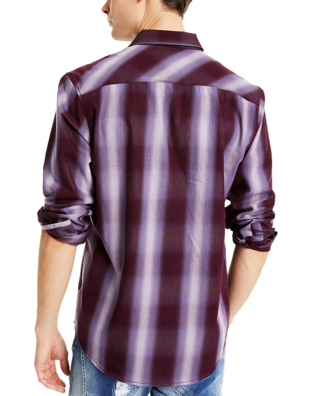 INC International Concepts INC Men's Leo Plaid Shirt, Created for Macy's & Reviews - Casual Button-Down Shirts - Men - Macy's