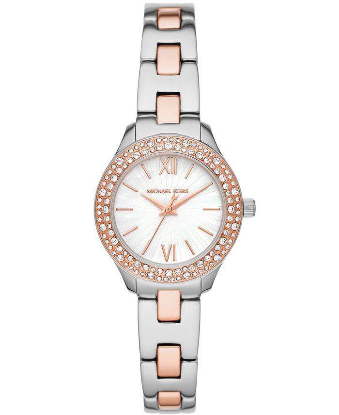 Michael Kors - Women's Liliane Two-Tone Stainless Steel Bracelet Watch 28mm MK4559