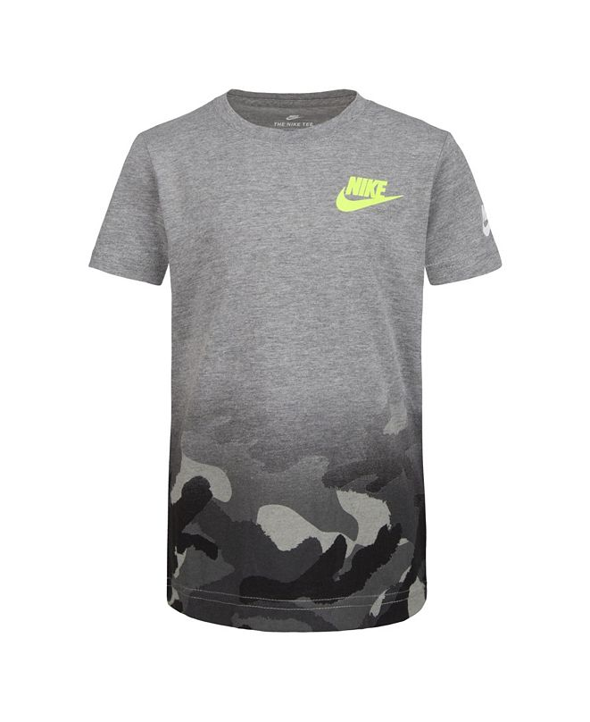 Nike Toddler Boys Camo Print Logo T-Shirt