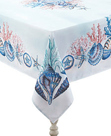 Laural Home Venice Beach 70x84 Tablecloth