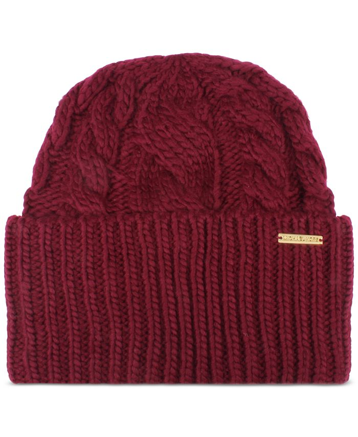Michael Kors - Super Cable Cuff Hat