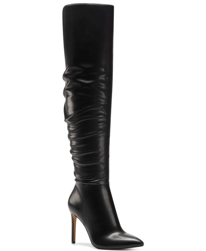 INC International Concepts INC Women's Iyonna Over-The-Knee Slouch Boots, Created for Macy's & Reviews - Boots - Shoes - Macy's