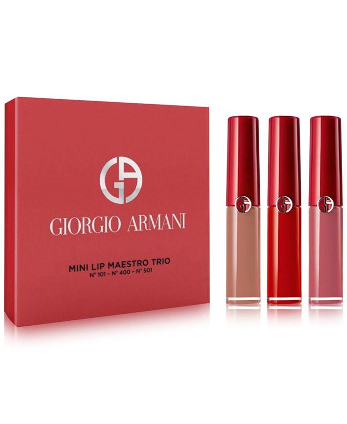 Giorgio Armani - Giorgio Armani 3-Pc. Mini Lip Maestro Set