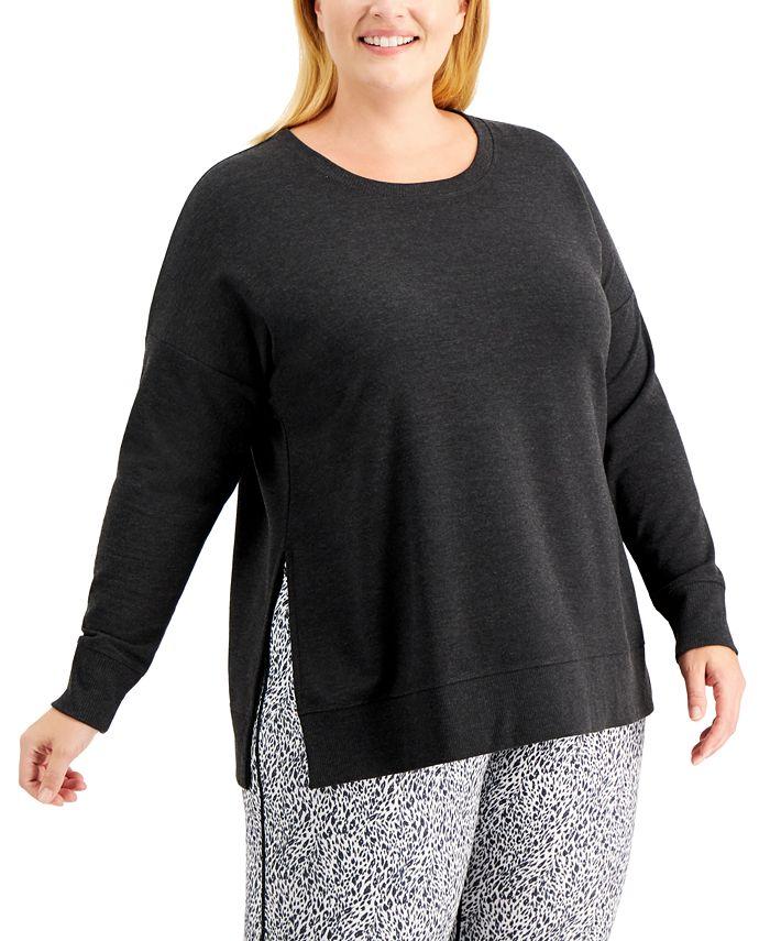 Ideology - Plus Size Solid Sweatshirt