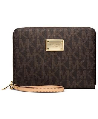 MICHAEL Michael Kors Mini Multi Function Tablet Case - Handbags & Accessories - Macy's