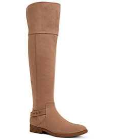Style & Co Lessah Wide-Calf Over-The-Knee Boots, Created for Macy's