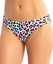 California Waves Juniors Bikini Bottoms, Created for Macy's