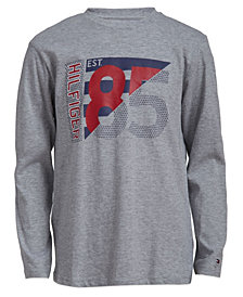 Tommy Hilfiger Little Boys Pledge Long Sleeve T-Shirts