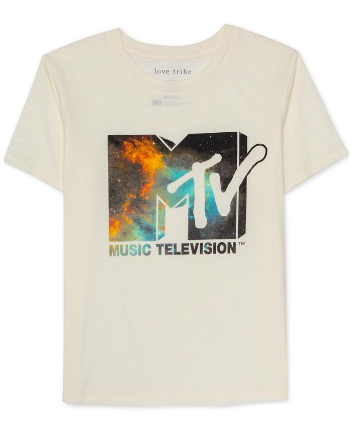 Love Tribe - Juniors Graphic Print MTV T-Shirt