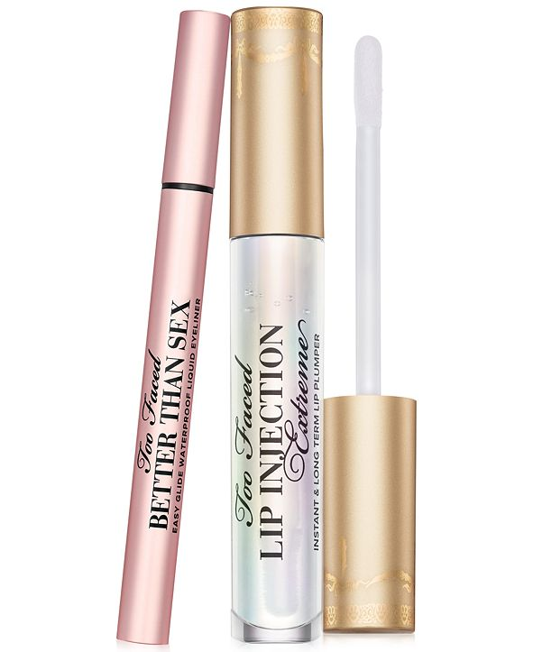 Too Faced 2-Pc. Plump Lips & Sexy Liner Essentials Set