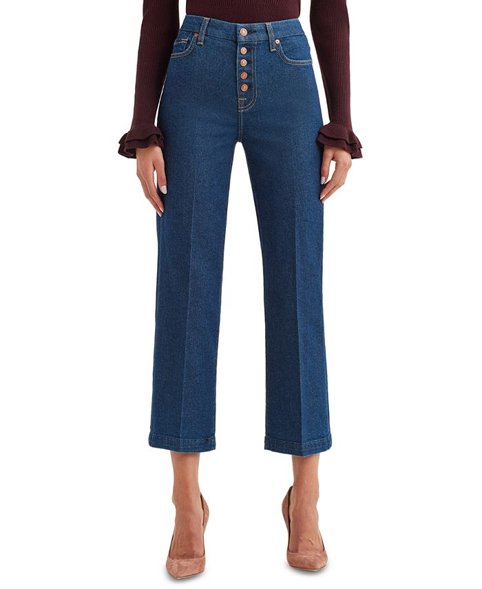 7 For All Mankind - Alexa Cropped Jeans