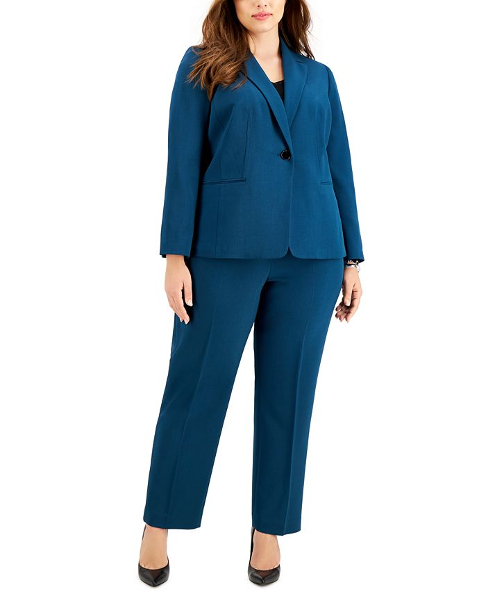 Le Suit - Plus Size One-Button Pant Suit, Perfect skin: 11 lifestyle changes to make