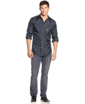 Jeans With Button Down Shirt