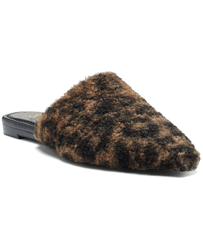 Vince Camuto - Women's Vameera Faux-Shearling Slippers